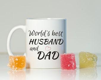 Gift for husband, Husband gift, Husband and dad gift, Husband mug, Dad gift, Father's Day gift, Husband birthday, Christmas husband gift