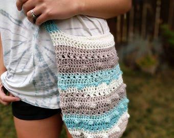 Hippie Love Bag / Crochet Bag / Market Tote / Multiple Color Options