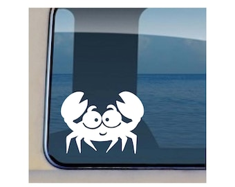 Crab Hawaii Sea life Decal 387