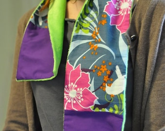 Bird Scarf RESERVED for Combustionglassworks