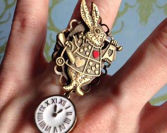 Adjustable rabbit from alice in Wonderland