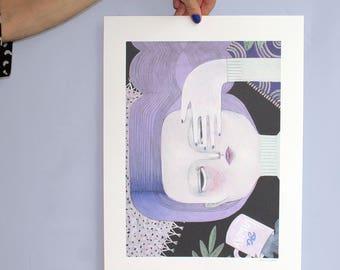 Go Away (artprint)