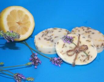 Lavender Lemon Soap with Shea Butter 1 oz.