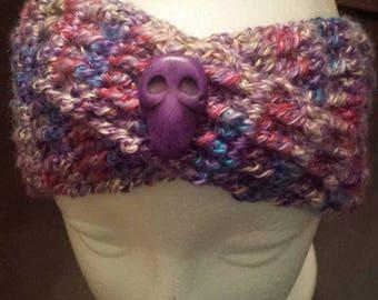 Skull Headband in purple
