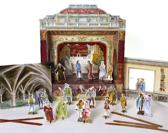 Romeo and Juliet - Story Pack  for Paper Theatres