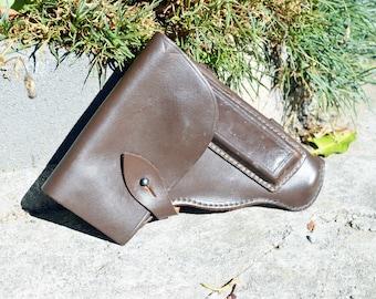 Vintage gun holster Pistol holster Leather gun holster Revolver holster Western holster Police holster Western gun holster Gun holder