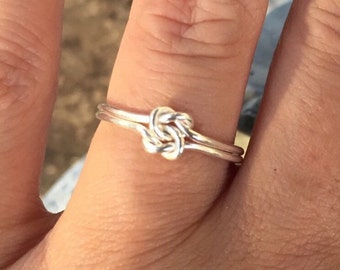 True Lovers Knot Ring