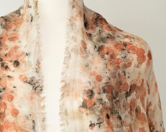 Euca Organic, Handmade Silk/Wool Scarves