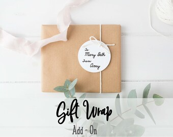 GIFT WRAPPING: Add On by Nest and Branch
