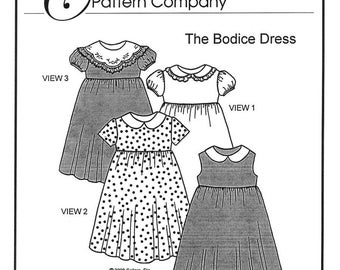 The Bodice Dress sewing pattern by Trudy Horne/Collars, Etc. Pattern Co.