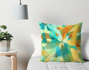 Geometric Pillow, Accent Pillow, Throw Pillow, Couch Pillow, Geometric Cushion, Modern Throw Pillow, Sofa Pillow, Abstract Pillow