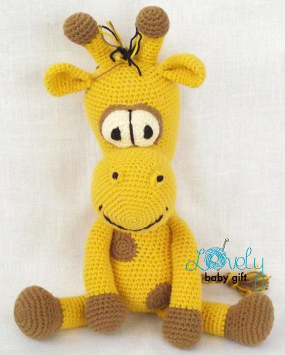 Amigurumi Crochet Pattern Giraffe Amigurumi Pattern Crochet