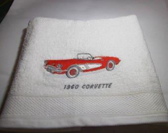 50 X 100 AMERICAN CARS TOWEL