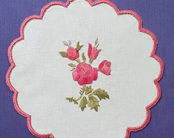 Jar cover - Wild rose
