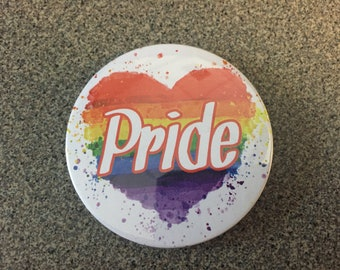 "LGBDT ""Pride"" 2 1/4 Inch Button"