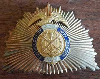 San Diego Army And Navy Academy Band Leader Hat Ornament - 1910