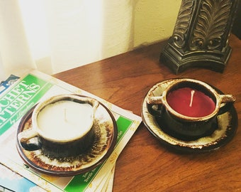 Pfalzgraff Coffee Dishware Candles