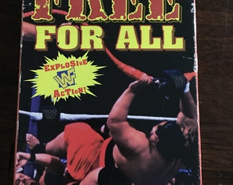 Free For All WF VHS Video