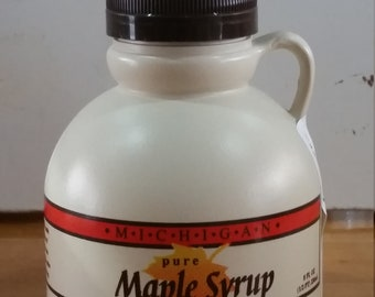 Maple Syrup - 1/2 pint plastic jug.