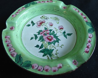 Vintage Hand Painted AshTray