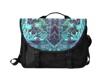 Artistic Laptop Hangbag 15''-messenger bag-useful bag-laptop shoulder bag-multifunction laptop-men and women- special laptop- customizable