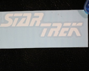 Star Trek The Next Generation Decal Any Size Any Colors