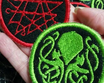 H. P. Lovecraft: Necronomicon and Cthulhu patches