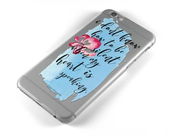 Fyodor Dostoyevsky Clear Phone Case - Bookish Phone Cover