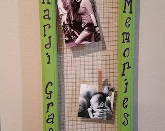 Mardi Gras Picture Board
