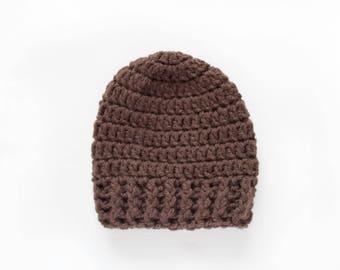 Baby Boy Hat / Boys Winter Hat / Newborn Boy Hat / Boys Beanie / Baby Shower Gift Boy / Toddler Boy Hat / Gift For Boys / Crochet Boys Hat