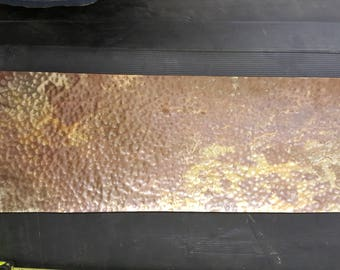 "Copper sheet  9 3/4"" x 31 1/8"""