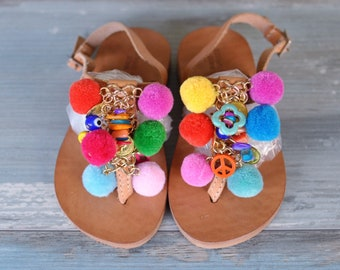 "Kids sandals ""Pansy"""