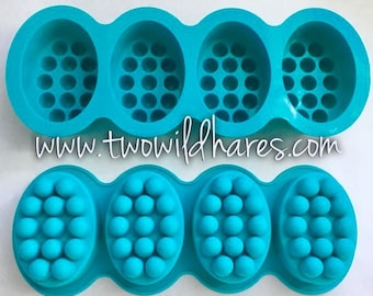 1 MASSAGE BAR Mold, 4.5 oz cavities, Silicone, TWH Exclusive