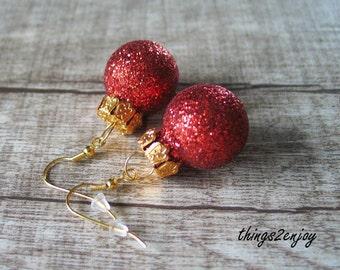 Earrings-Merry Christmas