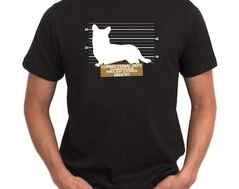 CORRECTIONAL DEPT Cardigan Welsh Corgi T-Shirt