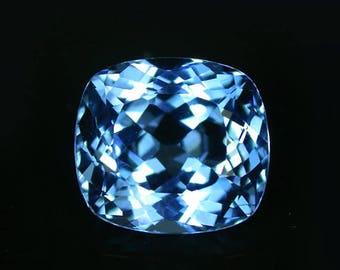 15.27 ctw. blue topaz loose gemstone.