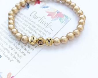 Pure Gold Inspirational Bracelets