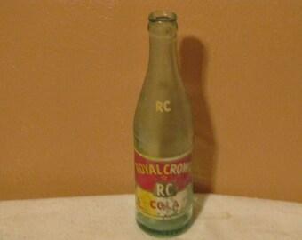 Vintage Royal Crown Cola Bottle
