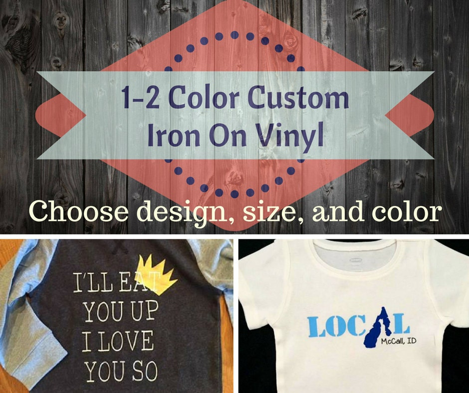 Custom Vinyl Iron OnCreate ShirtsVinyl TransferCustom - Custom vinyl decals for tee shirts