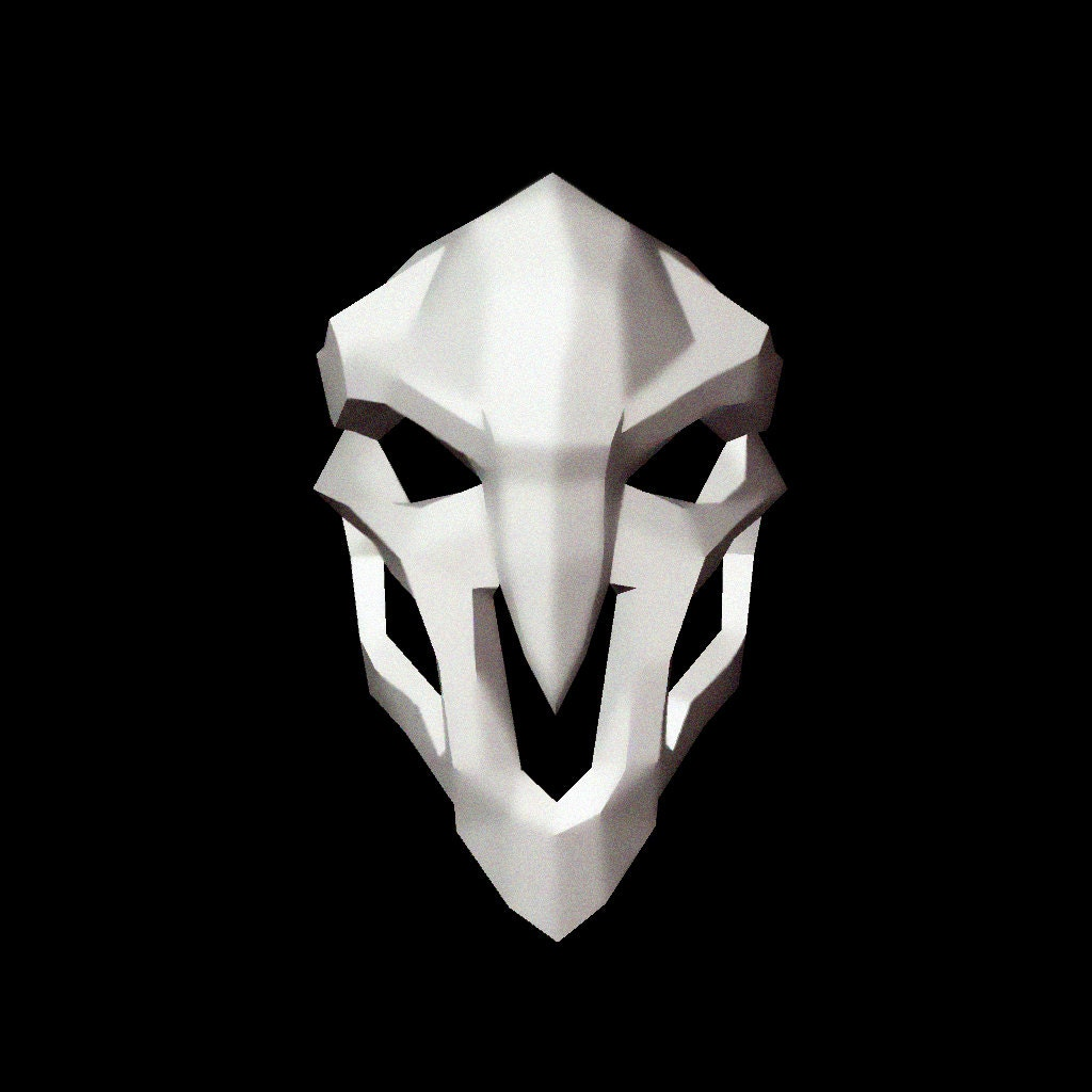 Make your own reaper Mask Printable Mask Instant Pdf