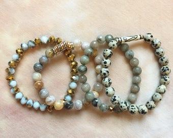 The Khloe Bracelet Stack