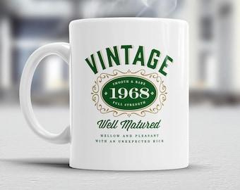 50th Birthday, Vintage, 1968, 50th Birthday Gift, 50th Birthday Idea, Happy Birthday, 50th Birthday Present for 50 year old!