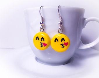 Handmade Fimo earrings//gift for her//birthday present//gift for Girls