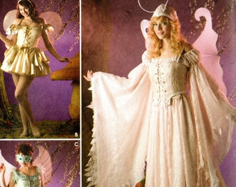 Simplicity Andrea Schewe COSTUMES Pattern FAIRIES 3675 Misses Sizes 14 16 18 20