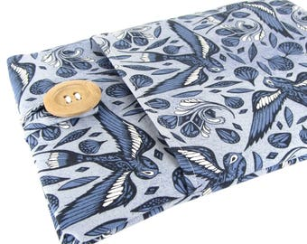 Custom Fitted Laptop Sleeve - Can Be Made For Any Laptop 15.6, 13 Inch, 13.3, 12 Inch, Bird