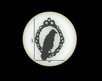 The Raven PDF Cross Stitch Pattern- Instant Download