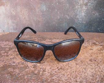 Teddy Bear Sunglasses. Classic black Breakfast Club look, 1990s style. Small child glasses. Fun doll costume, craft item or cake decoration.