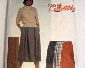 McCalls 2152 misses skirt sewing pattern