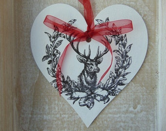 Huge Stag Heart