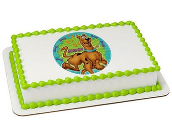 Scooby Doo Edible Cake or Cupcake Toppers - Choose Your Size